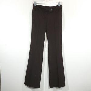 Ann Taylor Career Dress Pants Brown Size 0 Modern